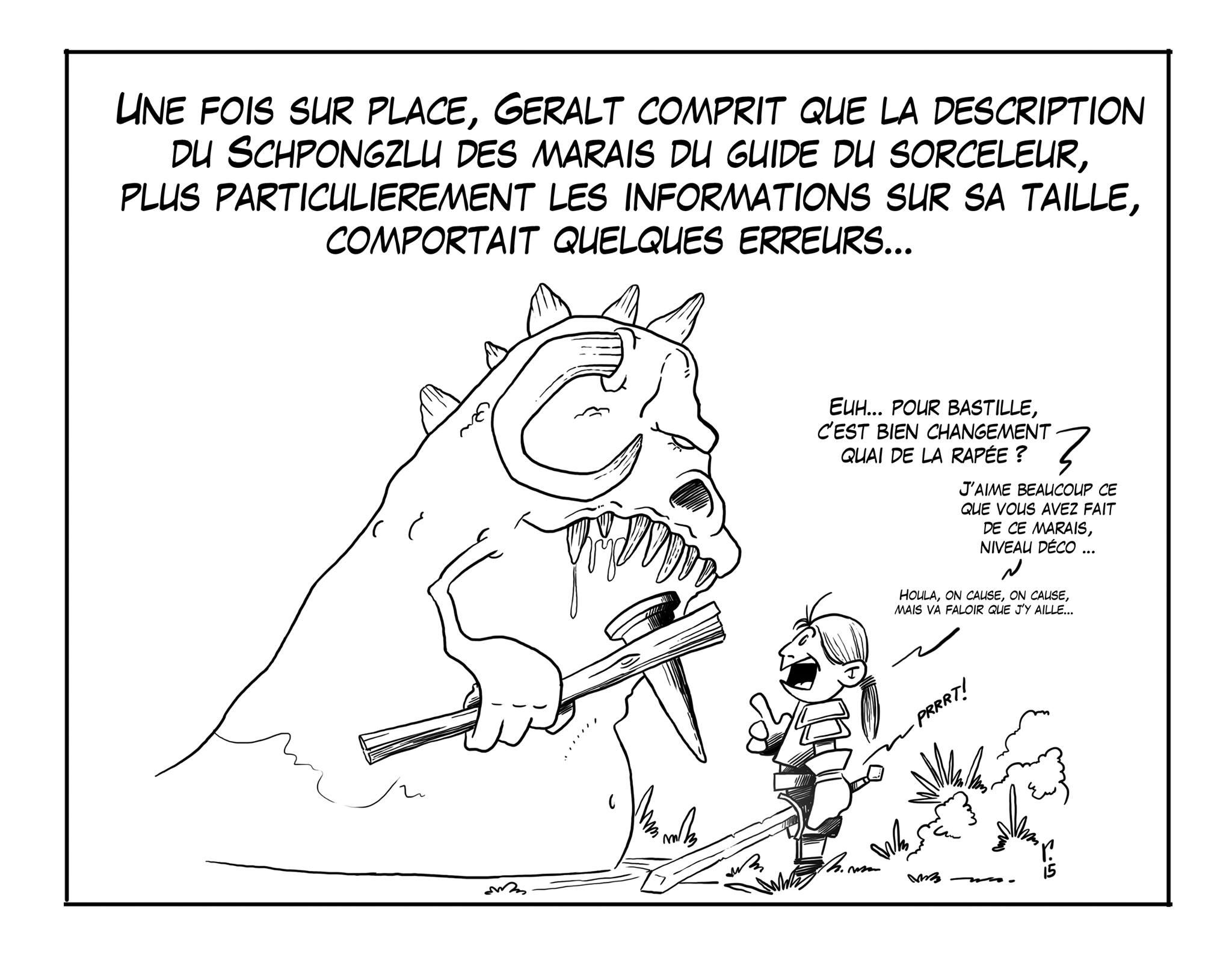 The Witcher en galère par Pierre